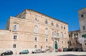 Palmieri Square. Monopoli. Apulia. — Stock Photo
