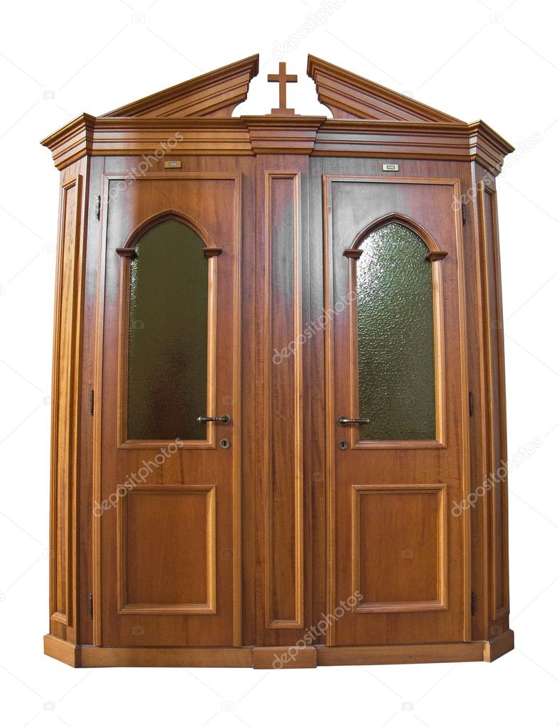 Wooden Confessional Stock Photo 169 Milla74 3062487