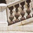 Marble handrail. — Stock Photo