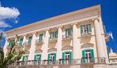 Siciliano Palace. Giovinazzo. Apulia. — Stock Photo