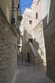 Alley in Palo del Colle Oldtown. Apulia. — Stock Photo