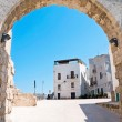 Square in Monopoli Oldtown. Apulia. — Stock Photo #3135439
