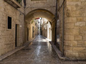 Alley in Giovinazzo Oldtown. Apulia. — Stock Photo