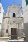 St. Mary Amalfitana. Monopoli. Apulia. — Foto de Stock