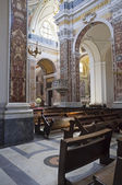 Indoor Monopoli Cathedral. Apulia. — Stock Photo