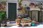 Dwelling in Monopoli Oldtown. Apulia. — Stock Photo