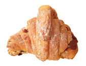 French chocolate croissant. — Stock Photo