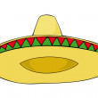 Stock Vector: Sombrero.