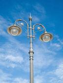 Straat-lamp in molfetta. apulië. — Stockfoto