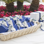 Wedding favors wicker. — Stock Photo #3205937