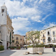 Mercantile Square. Bari. Apulia. — Stock Photo