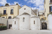 Vallisa church. Bari. Apulia. — Stock Photo