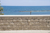 Bari Seafront. — Stock Photo