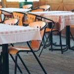Empty restaurant. — Stock Photo