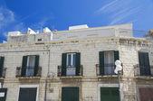 Typical house. Molfetta. Apulia. — Stock Photo
