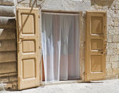 Typical house. Molfetta. Apulia. — Stock Photo