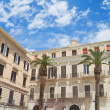 Palaces. Bari. Apulia. — Stock Photo