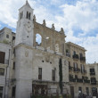 Mercantile Square. Bari. Apulia. - Stock Photo