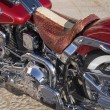 Close up of a motorcycle. — Stock Photo