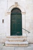 Porta de madeira. — Fotografia Stock