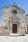 St. Nicholas of the Greeks Church. Altamura. Apulia. — Stock Photo