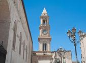 Civic Tower Clock. Altamura. Apulia. — Stock Photo