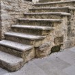 Stone Staircase. - Stock Photo