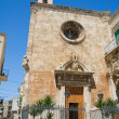 St. Mary Church. Giovinazzo. Apulia. — Stock Photo