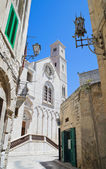 Cathedral view in Giovinazzo Oldtown. Apulia. — Stock Photo