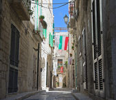 Characteristic Alley. Giovinazzo Oldtown. Apulia. — Stock Photo