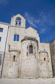 Knights Templar Church of Ognissanti. Trani. Apulia. — Foto de Stock
