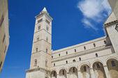 Belltower Cathedral. Trani. Apulia. — Stockfoto