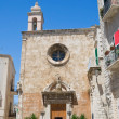 St. Mary of Costantinopoli Church. Giovinazzo. Apulia. - Stock Photo