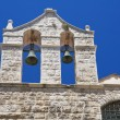 Belltower Church. Giovinazzo. Apulia. - Stok fotoğraf