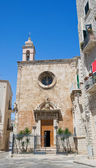 St. Mary of Costantinopoli Church. Giovinazzo. Apulia. — Stock Photo