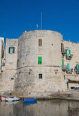 Aragonese Tower. Giovinazzo. Apulia. — Stock Photo