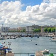 Panoramic view of Bari. Apulia. — Stock Photo