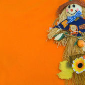 Halloween Scarecrow. — Stock Photo