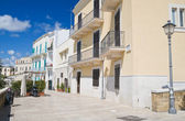 Muraglia. Bari oldtown. Apulia. — Stock Photo