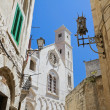 Cathedral view in Giovinazzo Oldtown. Apulia. - Stock Photo