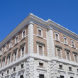 Historic palace. Bari. Apulia. - Stock Photo