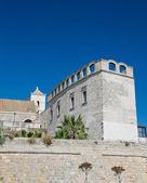 St. Scolastica Convent. Bari. Apulia. — Stock Photo