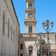 Stock Photo: Civic Tower Clock. Altamura. Apulia.