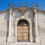 Baronial Palace. Bitetto. Apulia. — Stock Photo