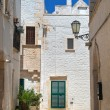 Alleyway. Locorotondo. Apulia. — Stock Photo