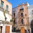 Stock Photo: Typical house in Bari Oldtown. Apulia.