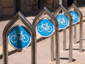 Bike parking. — Stock Photo