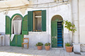 Typical house in Bari Oldtown. Apulia. — Stock Photo