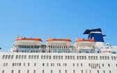 Cruise Ship Lifeboats. — Stock Photo