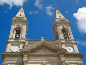 SS. Medici church. Alberobello. Apulia. — Stock Photo